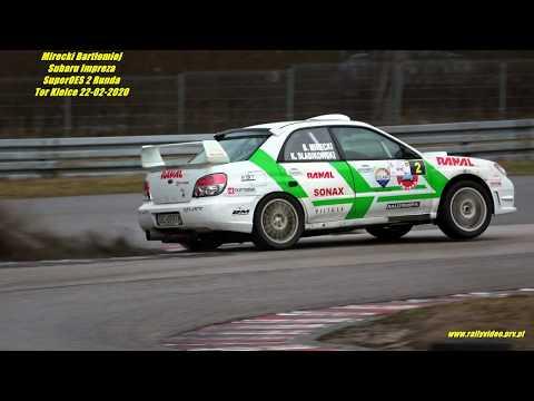 Mirecki Bartłomiej - Subaru Impreza - SuperOES 2 Runda Tor Kielce 22-02-2020