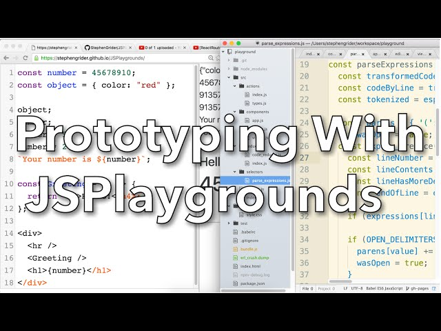 [React] Introducing JSPlaygrounds for Rapid Prototyping