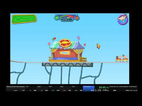 Phineas and Ferb New Inventions Any% 15:28 [FWR] |