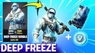 Fortnite ll NEW FROSTBITE SKIN IN FORTNITE BATTLE ROYALE!