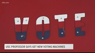 USC professor says get new voting machines