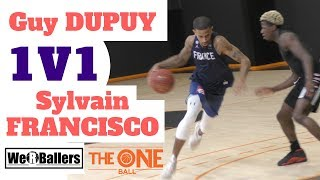 Guy Dupuy 1v1 Sylvain Francisco at The One Ball Video