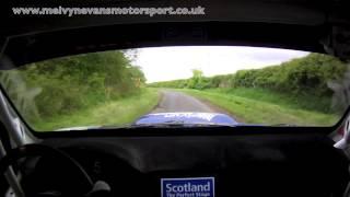 Steve Simpson/Patrick Walsh Jim Clark Rally 2013 Incar-Swinton 2