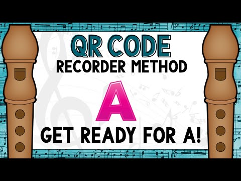 QR Recorder Book 1- Get Ready for A