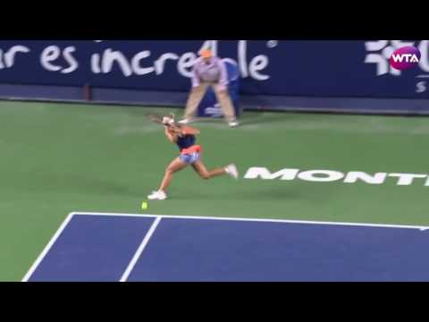 2017 Abierto GNP Day 2 | Shot of the Day | Angelique Kerber