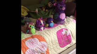 4 Hatchimals Jumping On The Bed | Nursery Rhyme | Number Song | Learning Song | Toys For Kids