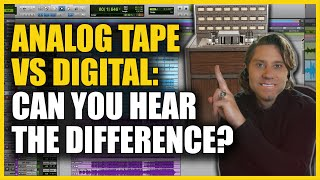 Analog Tape vs Digital: Can You Hear The Difference? (Multitracks Included!) - Marc Daniel Nelson
