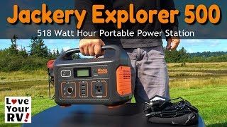 Reviewing the Jackery Explorer 500 Portable Power Station