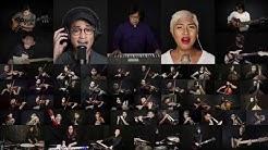 ANGIN MALAM - Erwin Gutawa Orchestra, Afgan, Dira S, Budjana, Tohpati, Ridho, Abim #OrkestraDiRumah