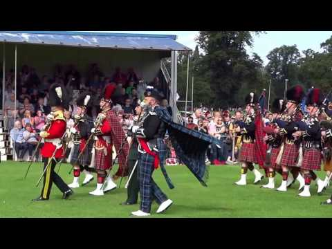 Pipe Bands Military Tattoo In Perth Perthshire Scotland