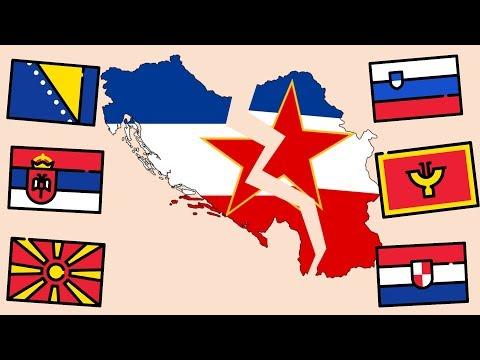 Как произошел распад югославии