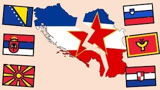 Почему распалась Югославия ?