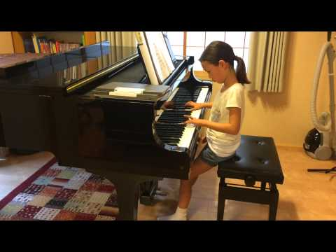 Ayana plays Jupiter by Holst