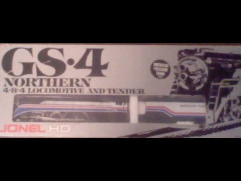 Lionel HO American Freedom Train GS 4 Northern 4 8 4 Locomotive and tender Unboxing and review