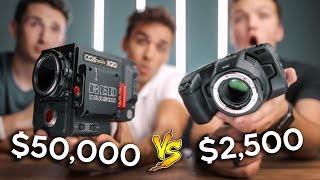 Black Magic Pocket Cinema 6k vs. RED Weapon 6k