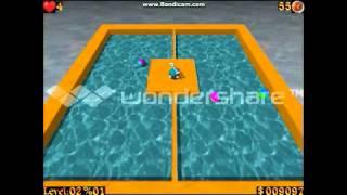 airxonix gameplay level 1-2