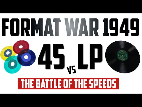 How A Forgotten 1949 Format War Shaped The Future Of Records