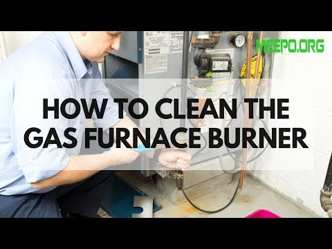 How To Clean The Gas Furnace Burner