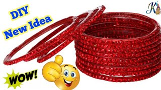 How To Reuse Old Bangles At Home