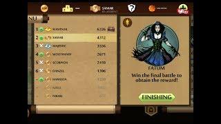 Shadow fight 2 V1.9.29 - Best Weapons against Fatum & Vortex