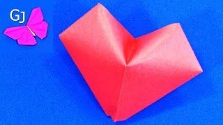 видео Как сделать объемные сердечки из бумаги своими руками?