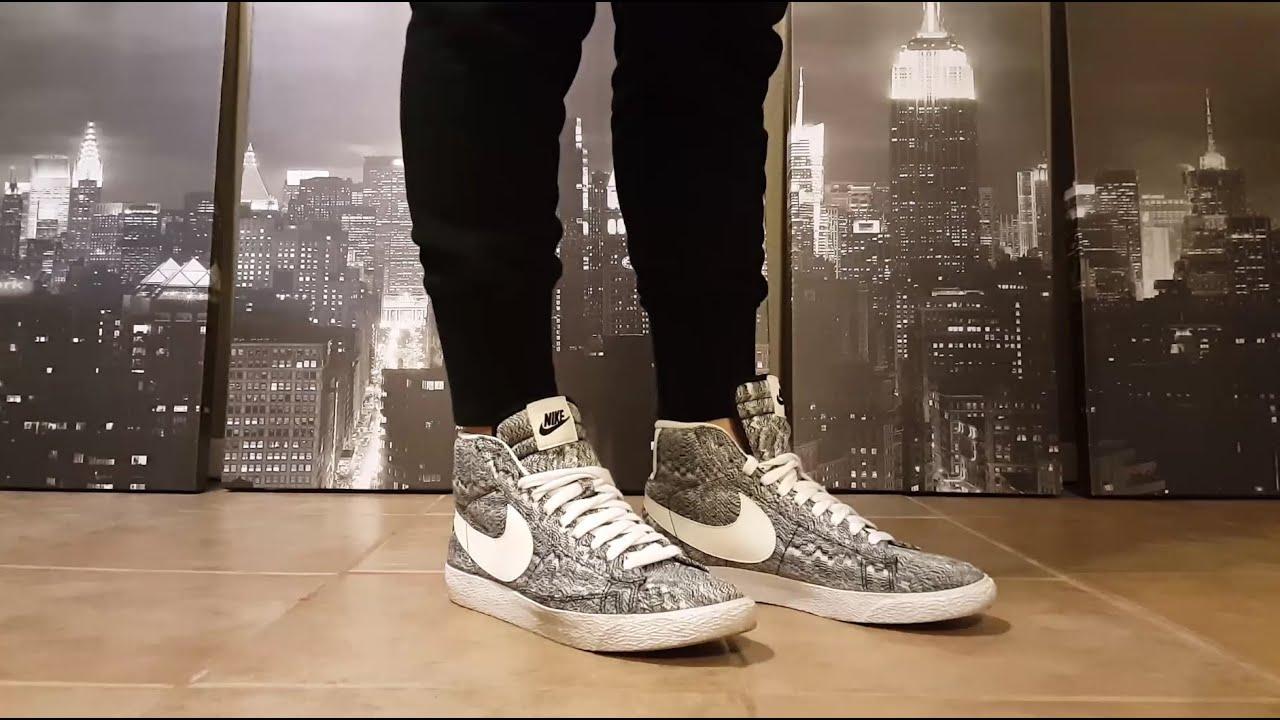 jeu grande vente Nike Blazer Mid Premium Qs Txt Vintage nouvelle arrivee 2015 en ligne réduction aaa combien biejrjrwN