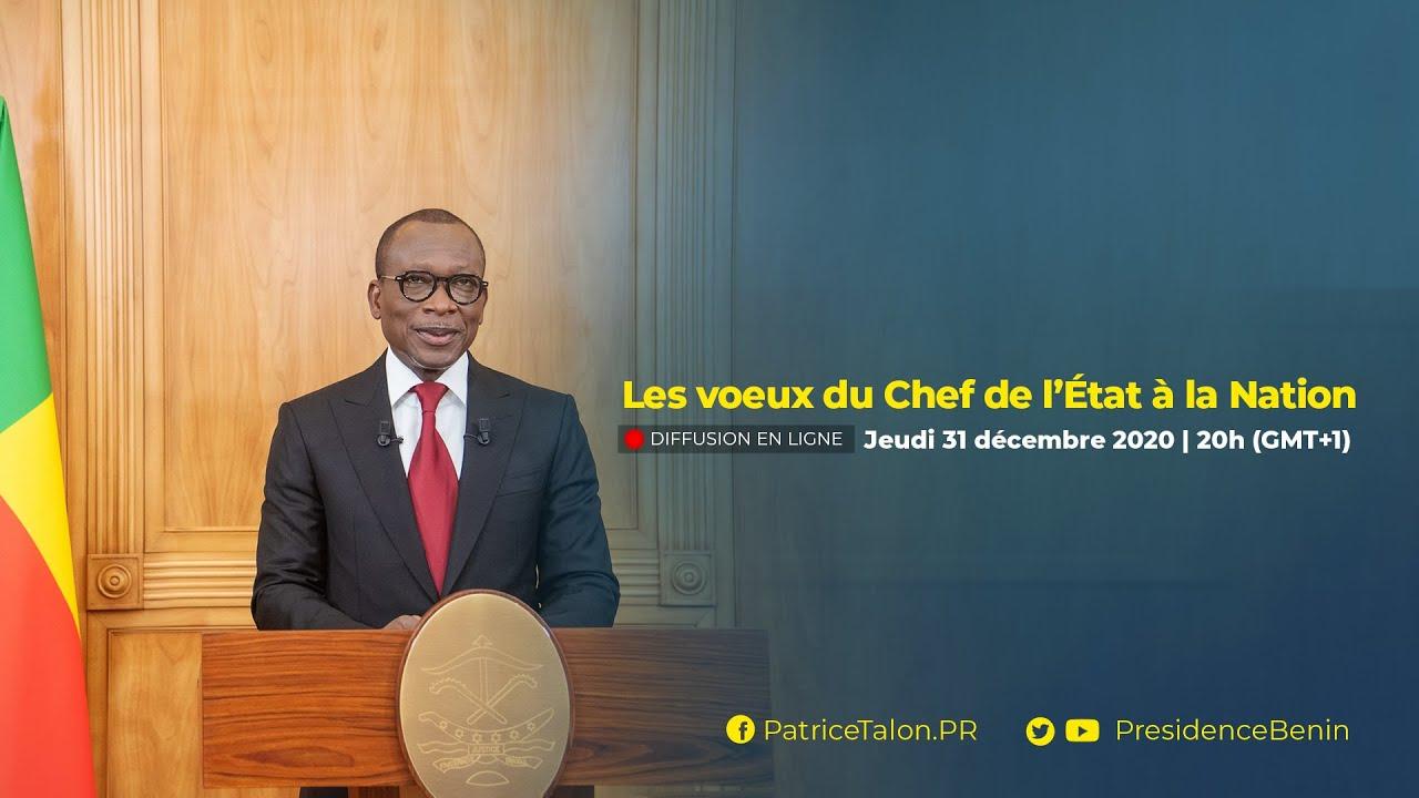 Les vœux du Président Patrice TALON à la Nation béninoise