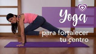 Yoga para fortalecer tu centro | Paloma & Caramelos