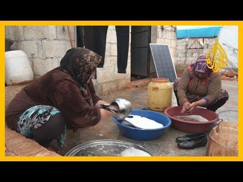 لمواجهة #كورونا.. حملات توعية وتعقيم في مخيمات النازحين بريف إدلب  - 12:01-2020 / 4 / 6