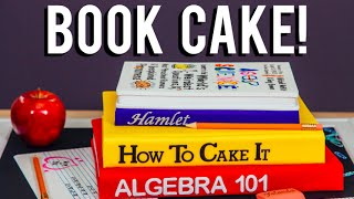 How To Make A Back-to-school Book Cake! Chocolate Cakes Inspired By The Asapscience Book!
