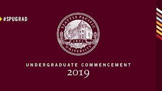 2019 Seattle Pacific University Graduation