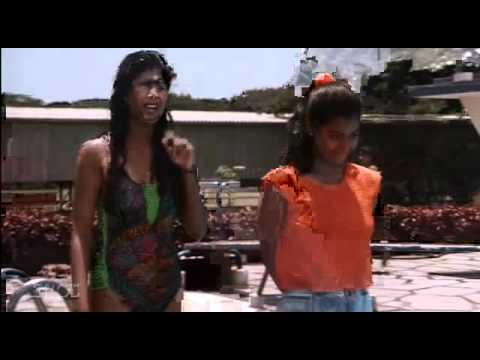 Shilpa Shetty in Swimsuit in the movie Bazigar