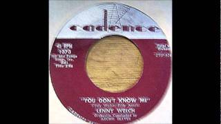 Lenny Welch & Group - You Don