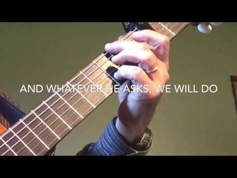 JW • Song 140 Cover - Guitar ONLY w/ Lyrics ©Watchtower Bible & Tract Society