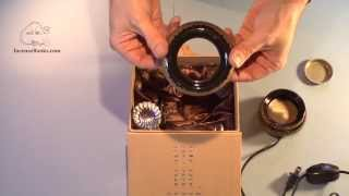 How To Use An Electric Incense Heater (Golden Lotus)