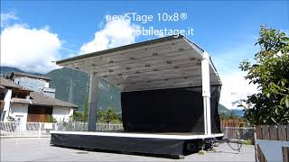 Speed Mobile Stage LARGE 6m x 10m