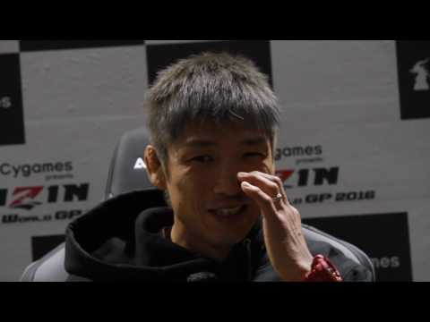 Hideo Tokoro - Rizin Post Fight Interview - 31/12/2016 - Gazeta Esportiva