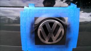 Plasti-Dip Badges, Emblems, Car    How To