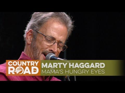"""Marty Haggard sings """"Mama's Hungry Eyes"""""""