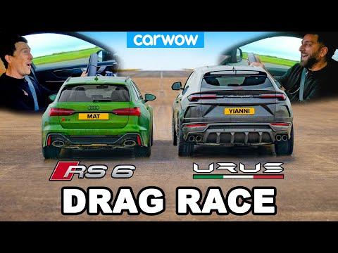 Audi RS6 v Lamborghini Urus - DRAG RACE *Mat vs Yianni*