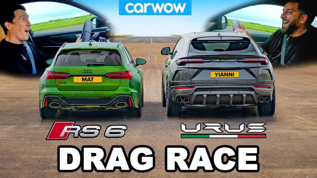Download Audi RS6 v Lamborghini Urus - DRAG RACE *Mat vs Yianni*
