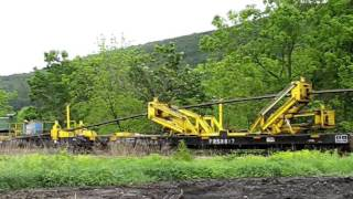Laying Rail on the Susquehanna Railroad
