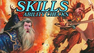 Skills and Ability Checks | The Rules | How to Play DnD 5e | Web DM