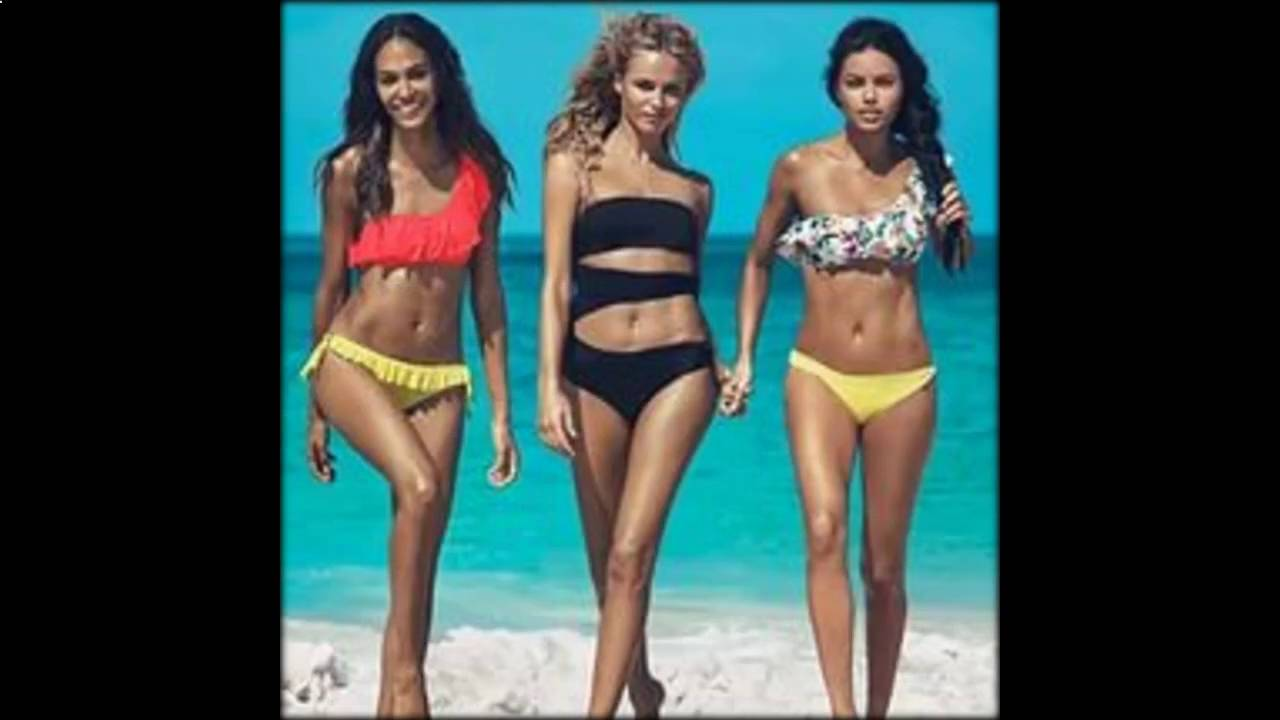 Купить купальник адидас модные женские купальники - YouTube