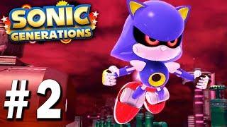 Скачать МЕТАЛ СОНИК РАЗГОООООН Sonic Generations прохождение серия 2