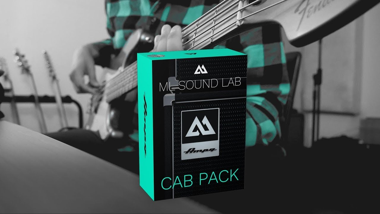 Ampg Bass Cab Pack | Based on an Ampeg™ 4x10 cabinet