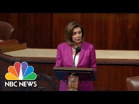 House Speaker Nancy Pelosi Calls Donald Trump's Comments Toward Congresswomen 'Racist' | NBC News