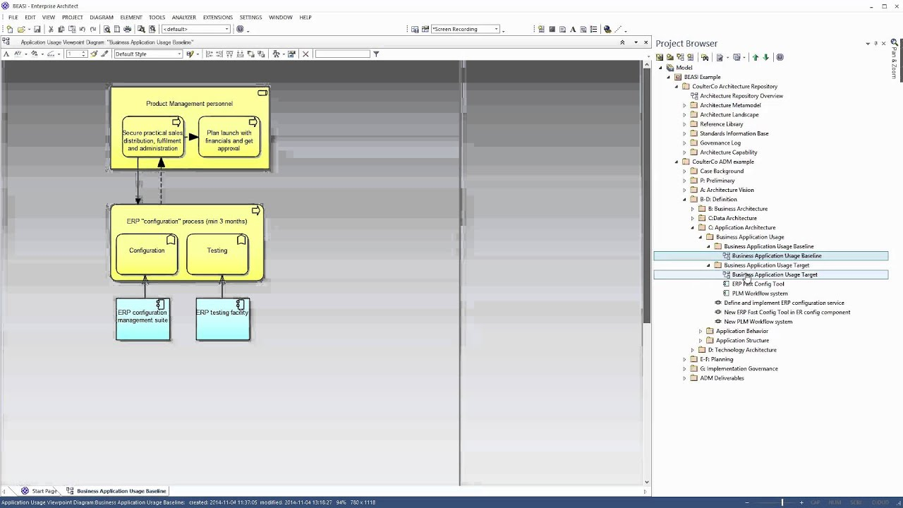 Sparx Enterprise Architect Diagram Daisy 1894 Parts Beasi Ea Archimate Tool Generate Gap