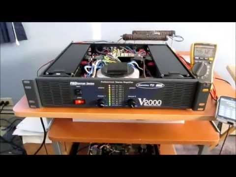 american dj v2000 amplifier repair