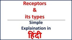 Receptors and its types simple explaination | Bhushan Science